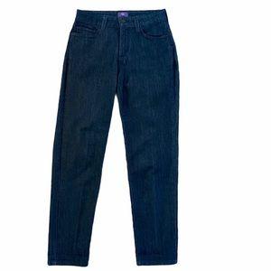 New NYDJ Lift Tuck Dark Wash Ankle Jeans